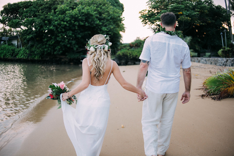 Wedding in paradise . How we pulled off a hawaii wedding for less than 10 grand